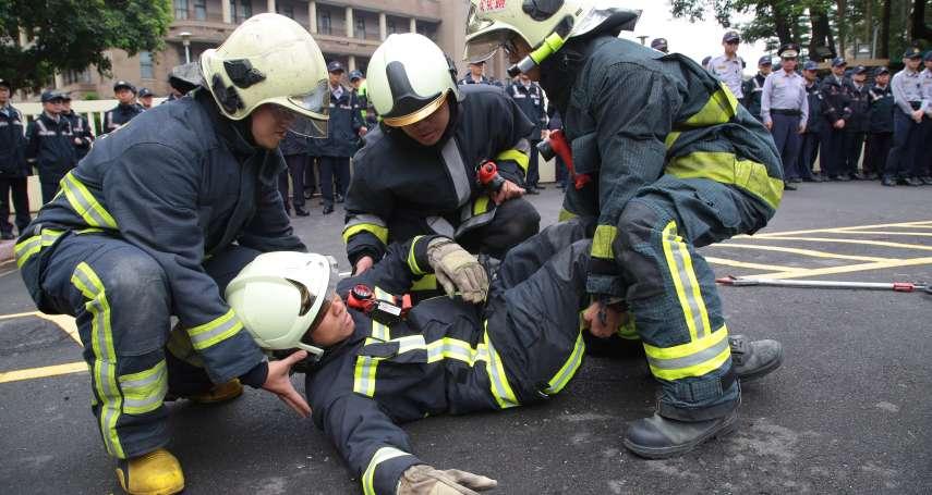過年無法回家的人》請婚假還被叫回分隊做「行政工作」 消防員永遠休不到的假