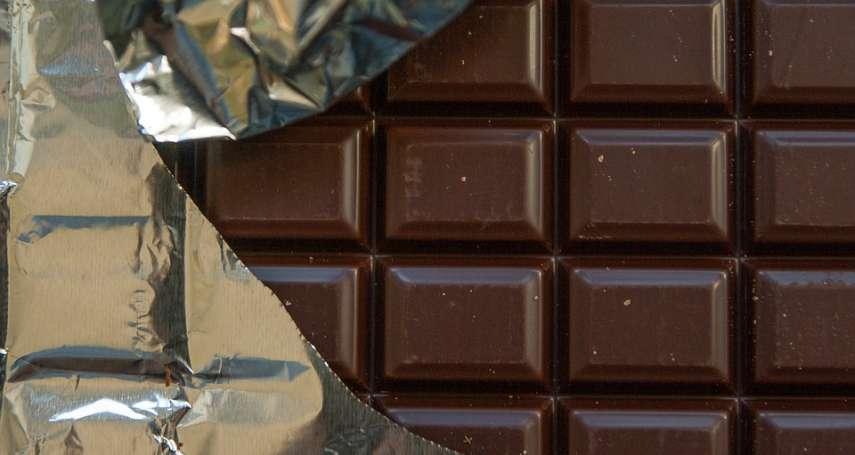 吃零食也可以顧健康!營養師:巧克力不僅能養顏美容,連老年失智都可以預防