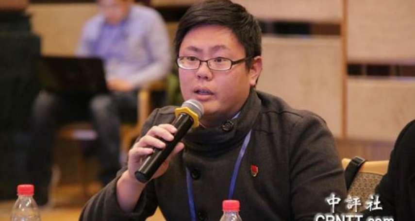「台灣言論不自由、思想壟斷」 台生張立齊自願加入中國共產黨