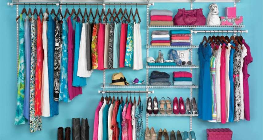 換季整理衣櫃還是很亂?懶人必看!6招收納小技巧,還給空間一個清爽感