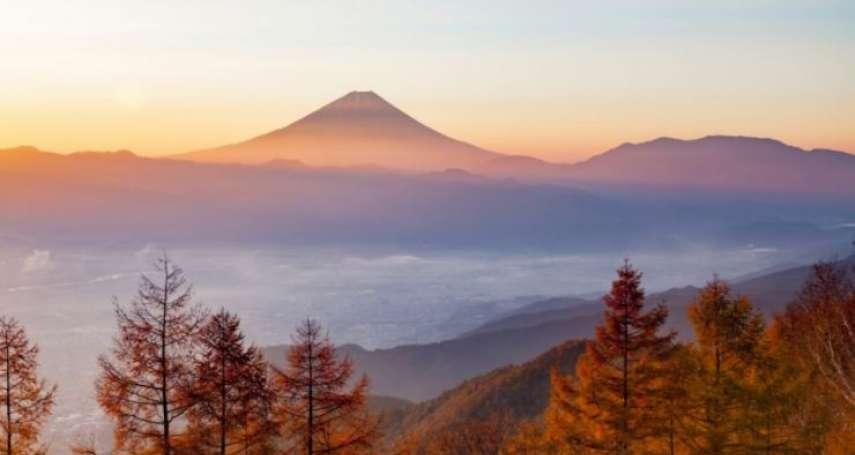 去不了,看照片也過癮啊!山梨縣5大絕景,打包富士山限定秋季景色