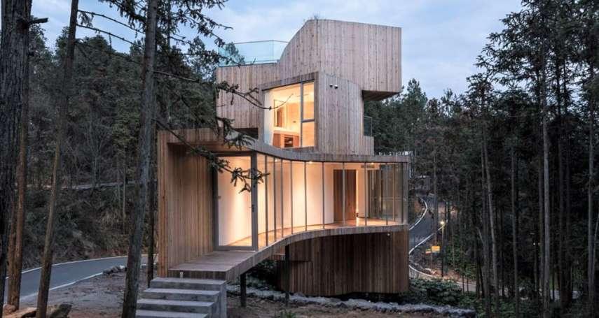 在山林懷抱中入睡!坐落乾隆大讚的「江南第一名山」,這小屋翠意環繞,清幽絕境值得訪!