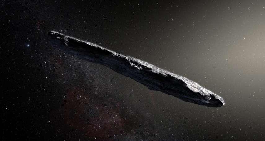 天外飛來一根紅色雪茄?人類首度觀測到「星際訪客」,它來自織女星!