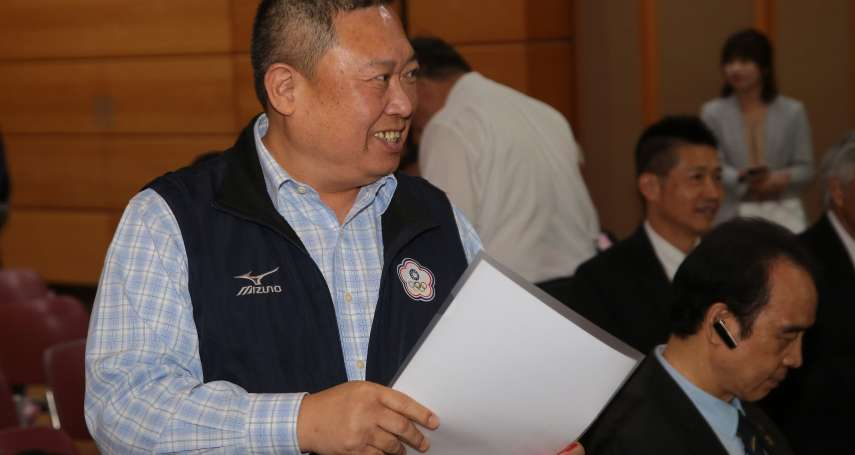 幕後》商務艙爭議只震走體育署長 奧會主席改選「沒人動得了林鴻道」