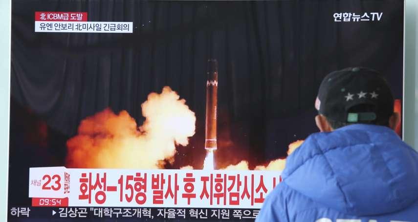 跟死神擦身而過 國泰航空機組人員疑近距離目擊北韓「火星-15」墜落