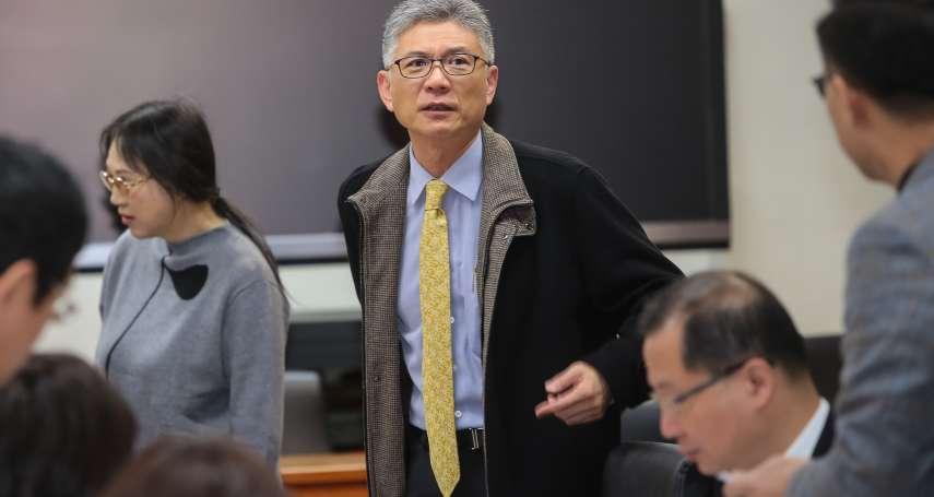 前行政院發言人孫立群  11月接掌中華奧會秘書長