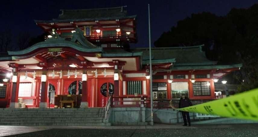 東京神社「富岡八幡宮」爆繼承糾紛 弟弟持武士刀砍死姐姐