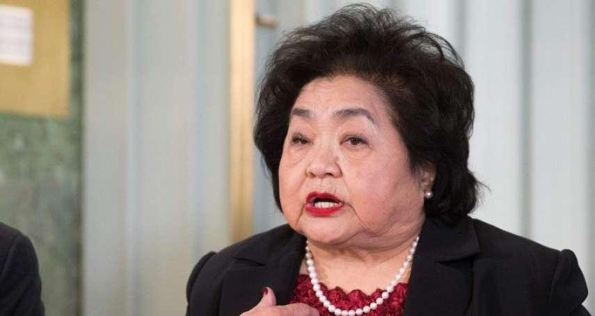 今年諾貝爾和平獎的領獎者:一位廣島原爆的倖存者
