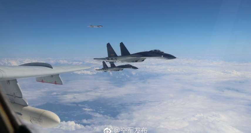 今天沒來繞台...轟-6、殲-11闖入南韓防空識別區,F-15K、KF-16緊急升空