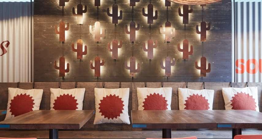 餐廳長這樣實在太可愛了!滿滿仙人掌的魔幻拉美風,就像踏入熱情墨西哥!