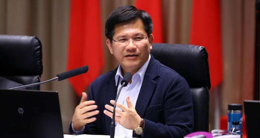 反空污大遊行》林佳龍宣布「嚴管鍋爐」新政策,參與遊行但不發言、不受訪