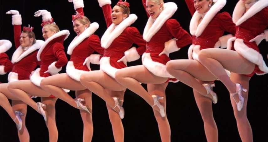 【圖輯】紐約耶誕節不可錯過的美景!近百年歷史「火箭女郎舞蹈團」