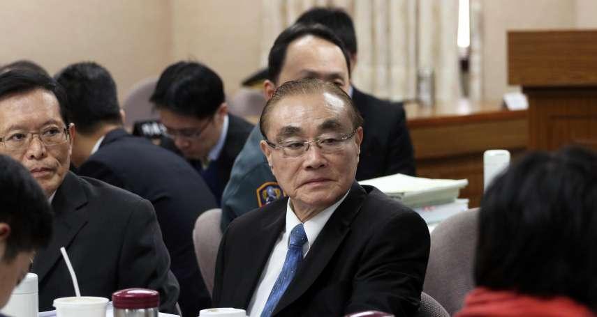 國安私菸案》馮世寬接退輔會主委最快今發布!「這件事」他是第一人