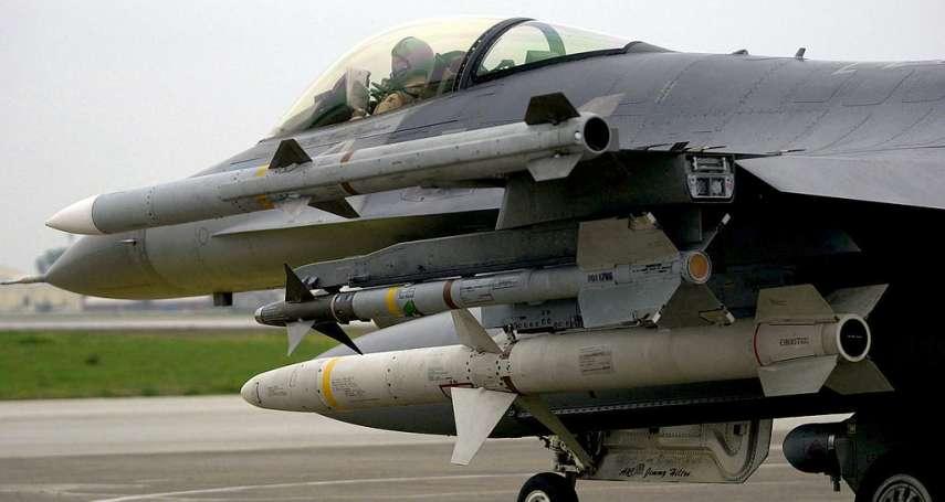 遠距掃平敵軍空防!美售AGM-88反輻射飛彈 台灣戰力再升級