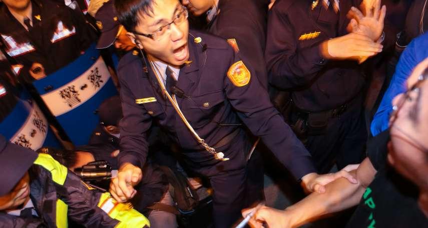 勞團城市遊擊戰累壞警察,柯文哲指示市警局:今後多用阻絕器材