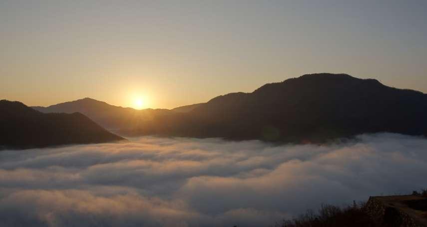 2018到哪送夕陽、迎第一道曙光?2張圖秒懂全台日出日落時刻
