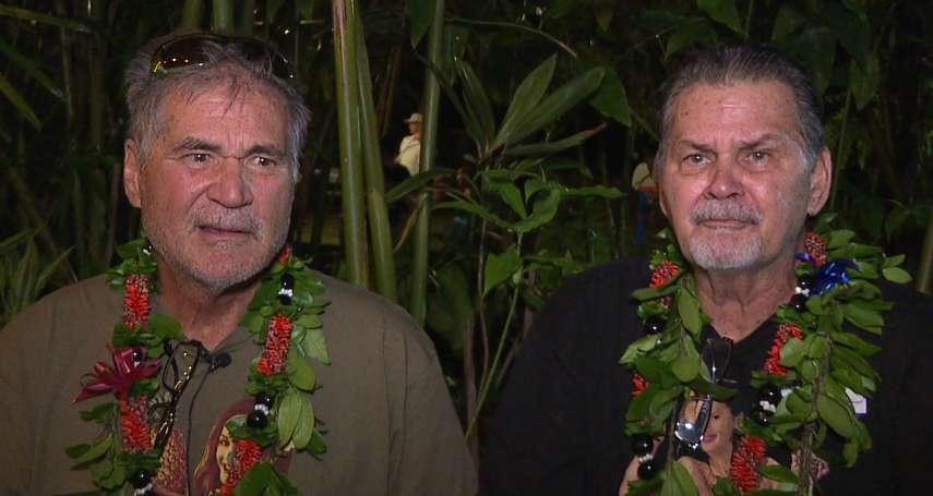 夏威夷的「耶誕奇蹟」!60多年哥倆好驗DNA 發現彼此真的是親兄弟