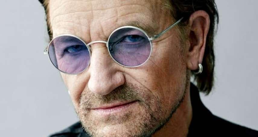 多次與死神擦肩而過 搖滾樂天團U2主唱波諾:「我是世界上最幸運的人」