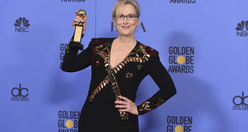 黑衫娘子軍來襲!「奧斯卡風向球」金球獎成好萊塢女星發聲舞台 齊穿黑衣抗議娛樂圈性犯罪惡行