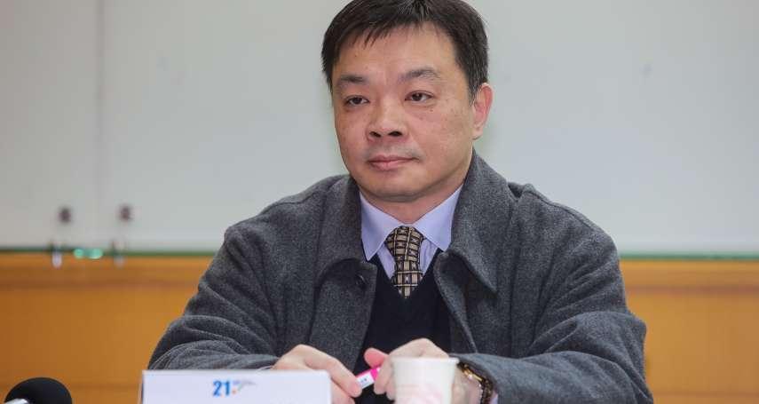 國民黨台南市長初選 高思博:盡快整合人選,不一定要國民黨籍