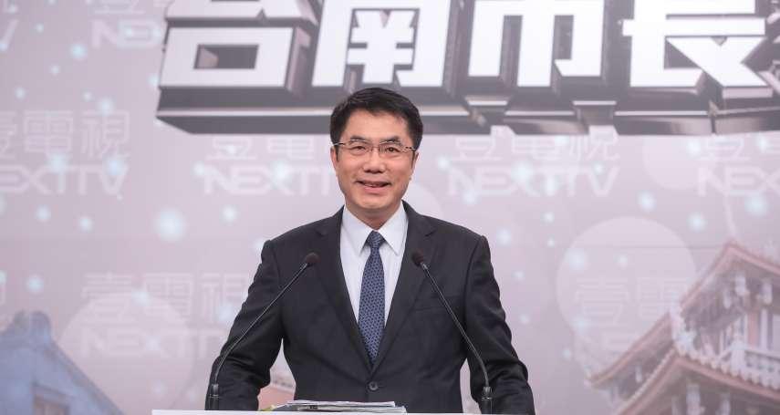 台南市長初選辯論前 黃偉哲高民調成黨內箭靶
