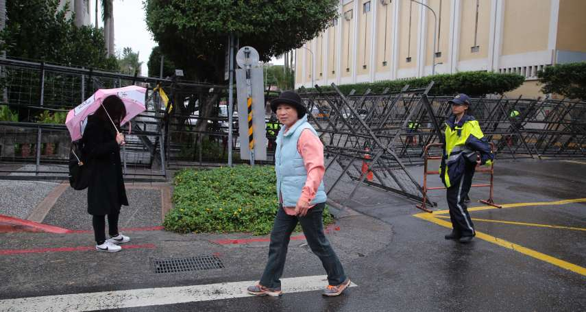 「只給出不給進」總統府蛇籠、拒馬包圍 社運人士畫「密室逃脫」路徑