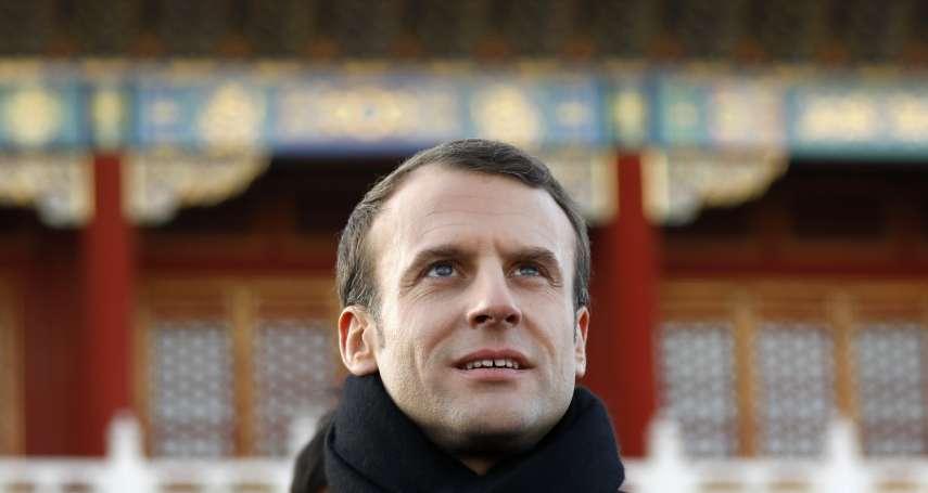 是全球民主的堅定捍衛者,也是積極攬權的「自由派強人」──法國總統馬克宏