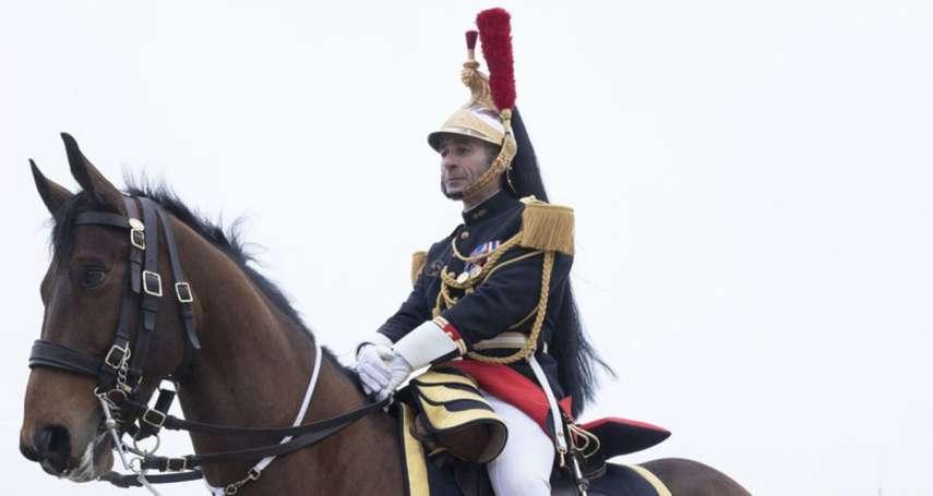 法國總統馬克宏真的送習近平一匹馬!「駿馬外交」可望載回數十億商機