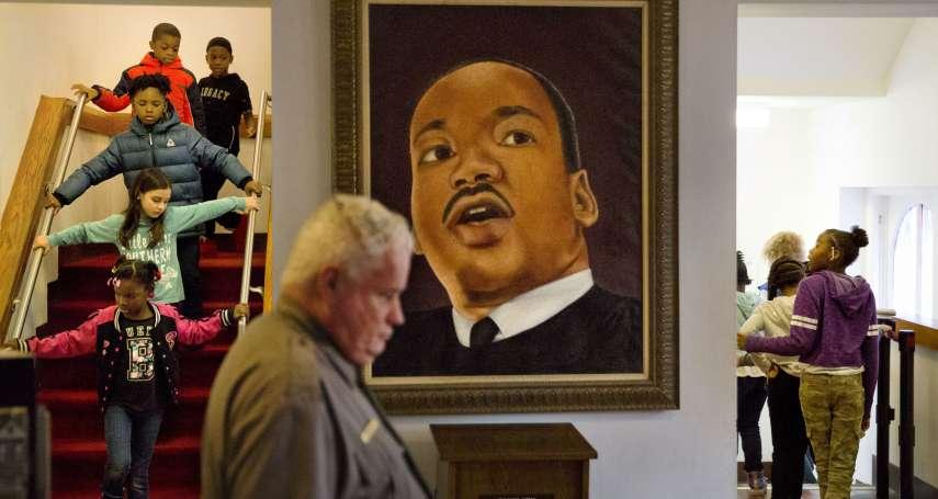引用馬丁路德金恩語錄挺川普蓋牆 美國副總統彭斯發言遭批「羞辱」民權領袖