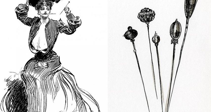 色狼聞風喪膽!這時尚配件曾是女性絕佳自衛武器,輝煌一時卻因「這事件」遭歷史淘汰…