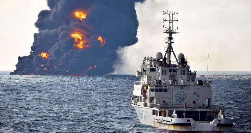 桑吉號東海溢油:史上首次大規模輕油洩漏,日本南韓恐難逃污染