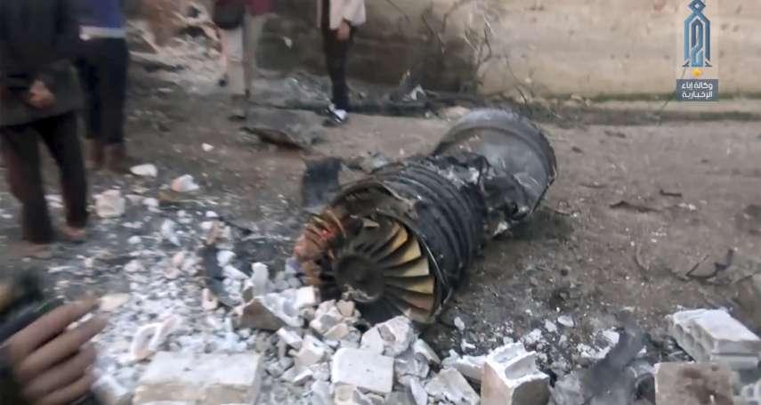 敘利亞內戰7年頭一遭!俄羅斯Su-25戰機遭反抗軍擊落 飛行員逃出後戰死