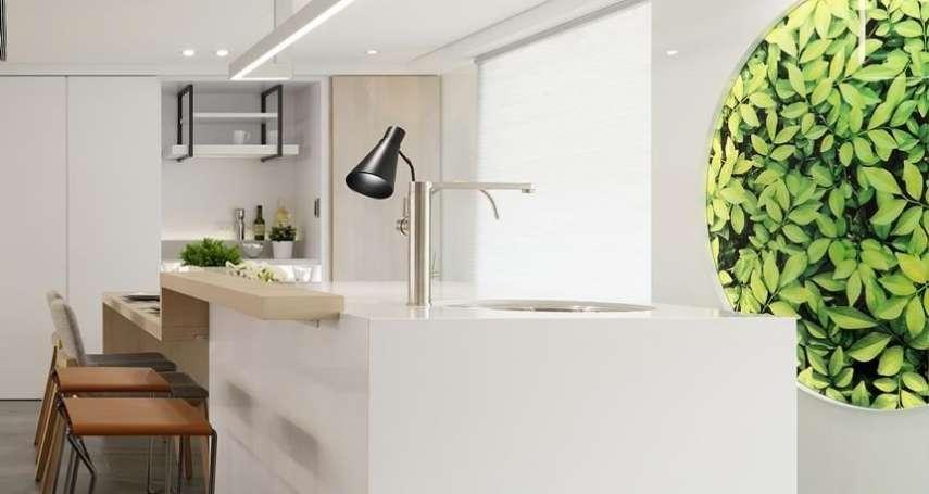 每次煮完飯都腰酸背痛?可能是你家廚房設計差!專家提5撇步,空間規劃好下廚更輕鬆!