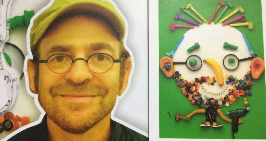 【台北國際書展專訪】螺絲起子加木槌就能變出蔡英文?以色列插畫家皮芬暢談「半路出家」的創作路