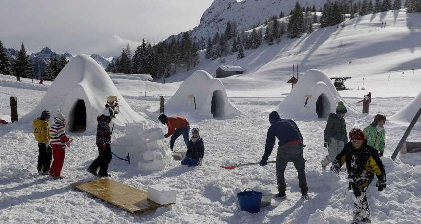 非洲難民協助打造滑雪新景點 義大利冰屋村拉近當地人與新移民的心