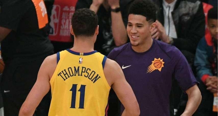 NBA》三分球大賽 布克28分破紀錄奪冠