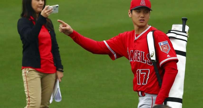 MLB》大谷翔平春訓初登板 25日先發對釀酒人