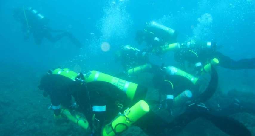 好多珍貴歷史全藏在海底!隨台灣「水下考古」第一人探險,幾百年前的宋朝沉船就在眼前…