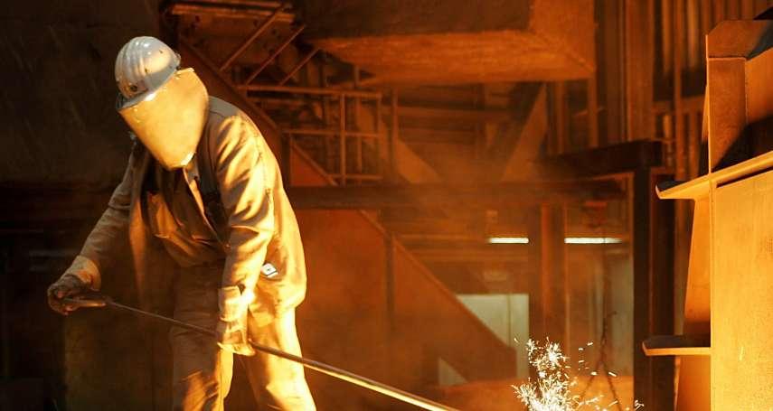 鋼鐵股重挫!有逃命波嗎?分析師示警:鋼價向來牽連股價,現在很可能是牛市尾巴