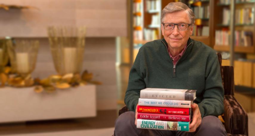 看了一半就沒興趣的書可以「棄坑」嗎?揭比爾蓋茲看書的4個堅持,成就了今天的他