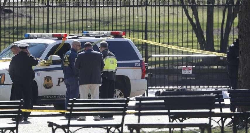 美國槍枝泛濫,總統維安也亮紅燈 男子白宮圍牆外開槍