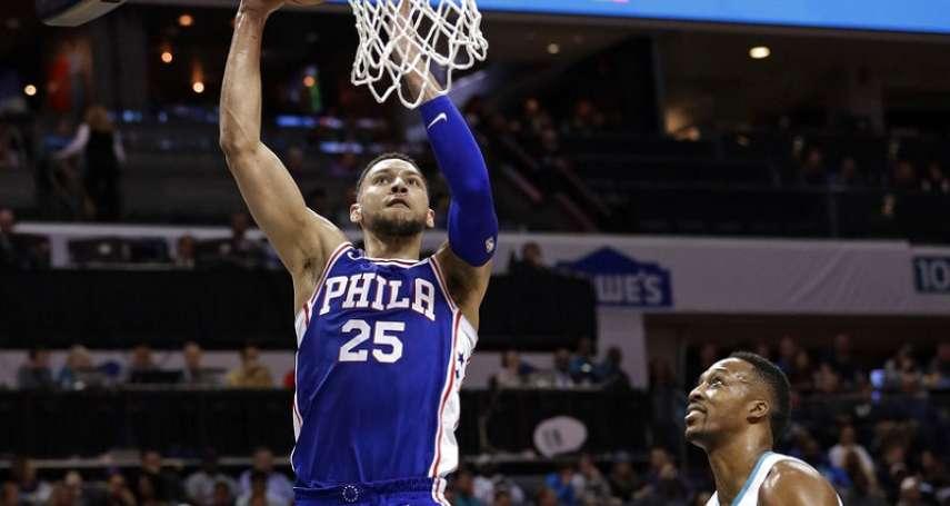 NBA》霍華德超人身手無用 黃蜂兵敗費城