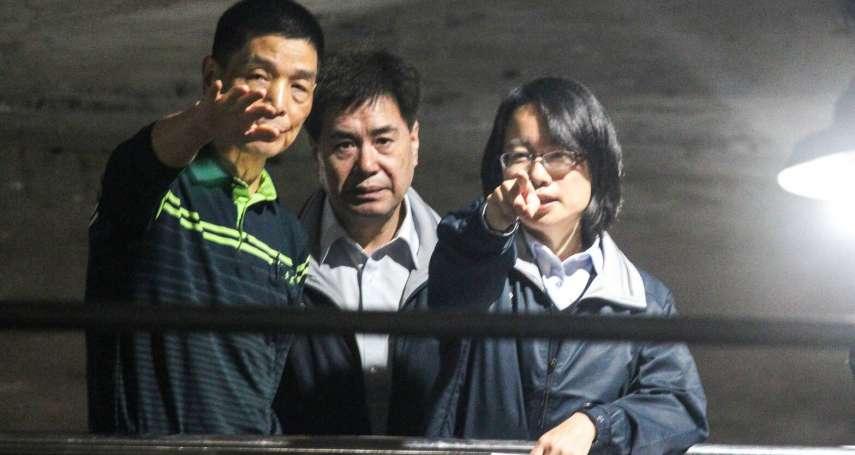 晚間突與陳吉仲現身果菜市場 吳音寧澄清:去年7月6日開會,曾反對休市3天