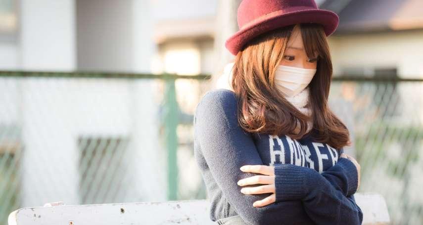 寒流來襲、空氣又差,小心氣喘發作高峰!醫生提醒:出現這些徵兆,一定要就醫