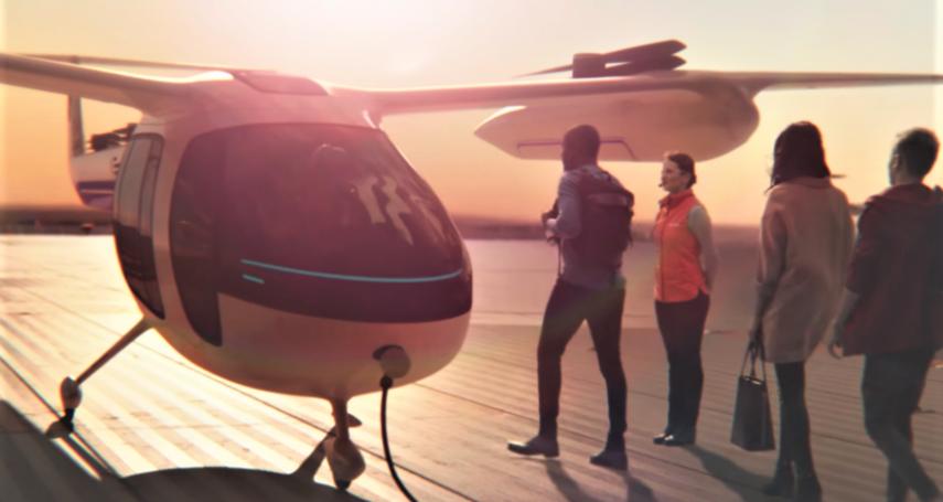 Uber野心十足!要造飛行計程車!高速、免塞車,竟號稱「價格親民」人人都搭得起?