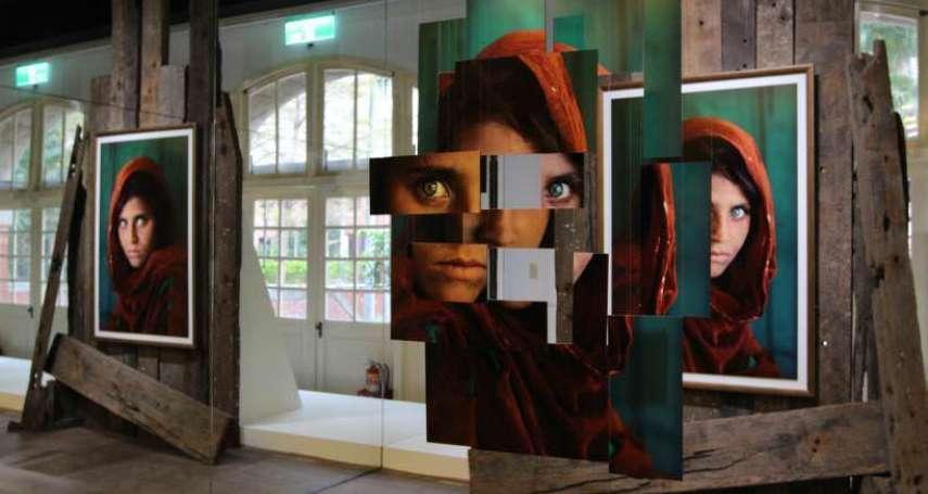 攝影大師130幅大作來台!「阿富汗綠眼少女」一拍成名,他穿越戰火苦難,帶回震撼影像!