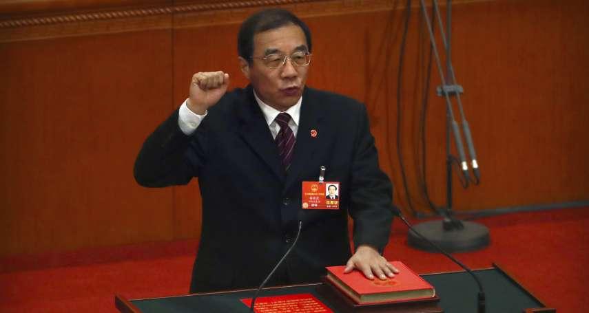 中國兩會最受矚目新領導人》國家監察委員會主任楊曉渡:長期任職西藏,跟隨習近平反腐仕途竄升