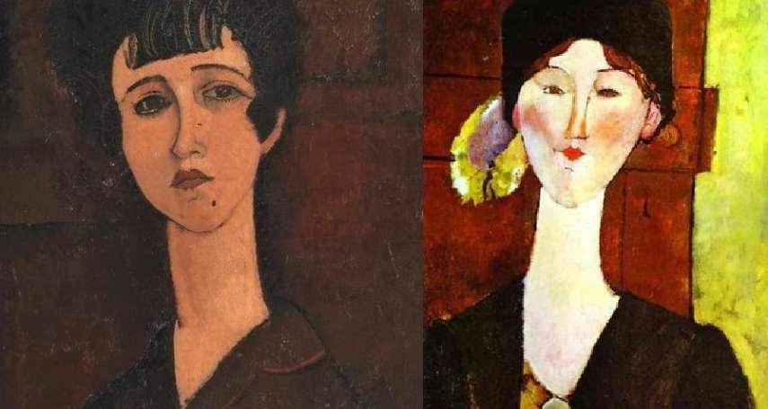 分手後一怒塗掉舊情人?被顏料蓋住100年,X光曝出藝術家充滿激情、酒精與藥物的美女繆斯