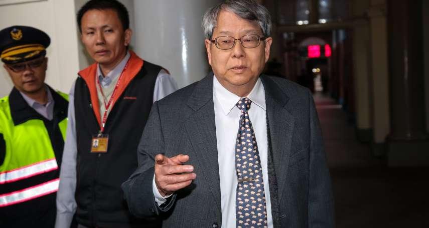 查機密外交「安亞專案」 陳師孟:邱義仁告訴我,馬英九上台後300扁朝官員被調查