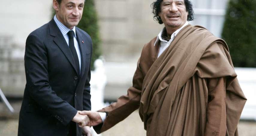 法國前總統也被抓!疑收受格達費政治獻金,薩科齊遭警方拘留訊問